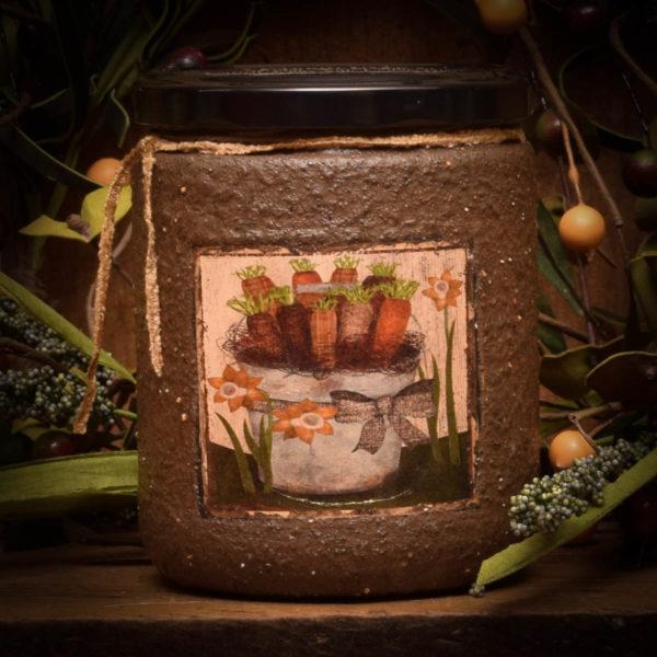Carrot Cake 16 oz Jar Candle