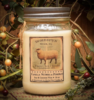 Sheep 16 oz Jar Candle