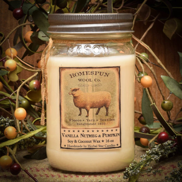 Sheep 16 oz Jar Candle