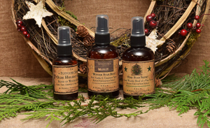 Set of three Room Sprays offered for Christmas