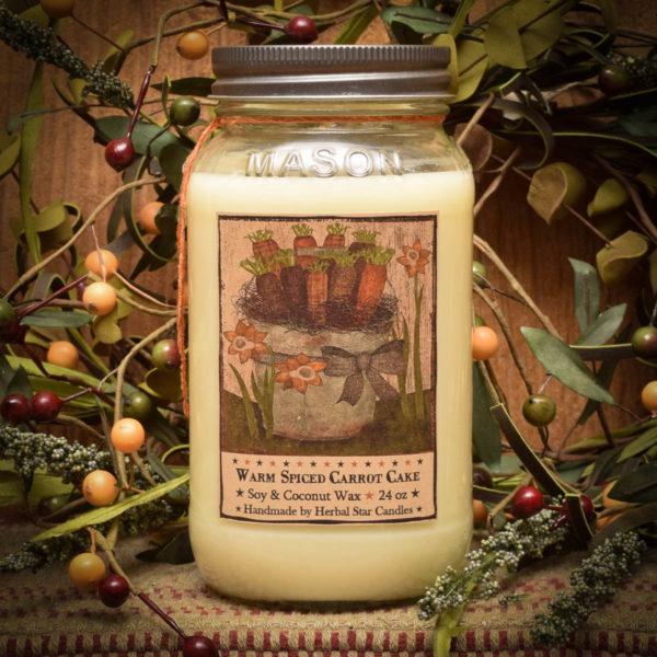 Carrot Cake Mason Jar 24 oz