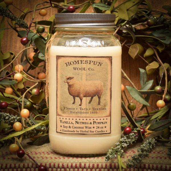 Sheep 24 oz Jar Candle