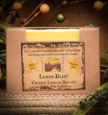 Lemon Daisy Bar of Soap