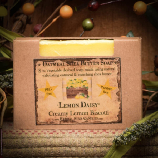 Lemon Daisy Bar of Soap