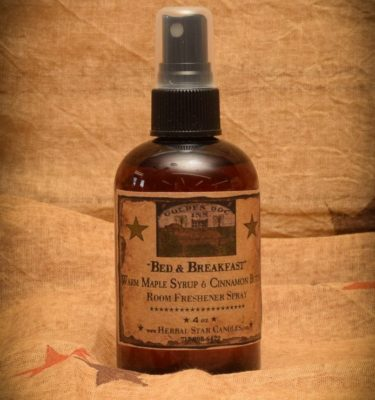 Bed and Breakfast Room Spray