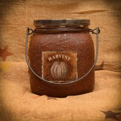 Harvest 48 oz Handle Jar Candle