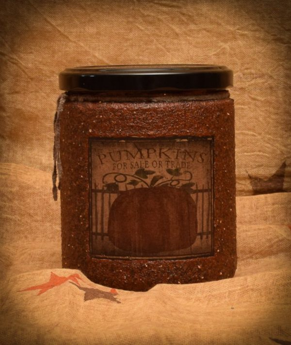 Pumpkin Star Patch 16 oz Jar Candle