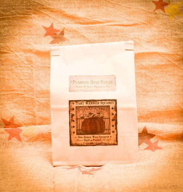 Pumpkin Star Patch Bag of 12 Tarts