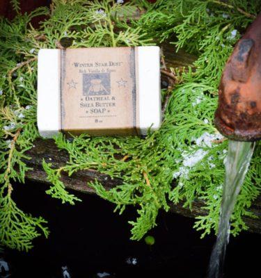 8 pz bar of winter star dust soap
