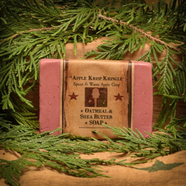 Apple Krisp Kringle 8 oz Bar of Soap