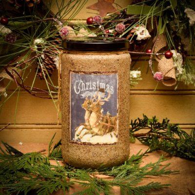 Prancer's Pumpkin Bread 24 oz Jar Candle