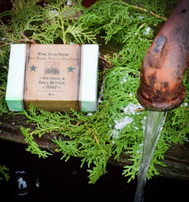 Pine Star Shine 8 oz Bar of Soap