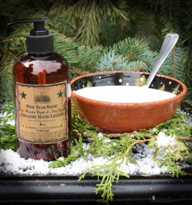 Pine Star Shine Organic Lotion