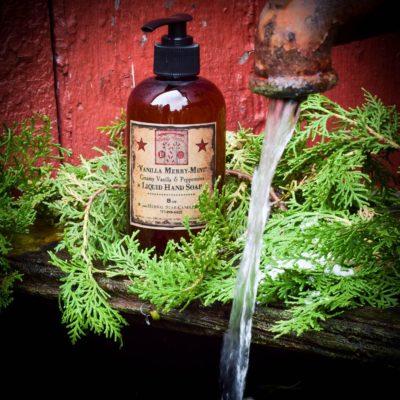 Vanilla Merry Mint Liquid Soap