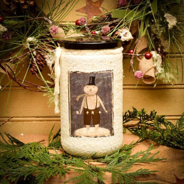 24 oz Jar Candle Winter Star Dust