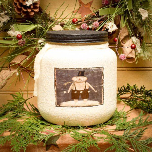 Winter Star Dust 64 oz Jar Candle