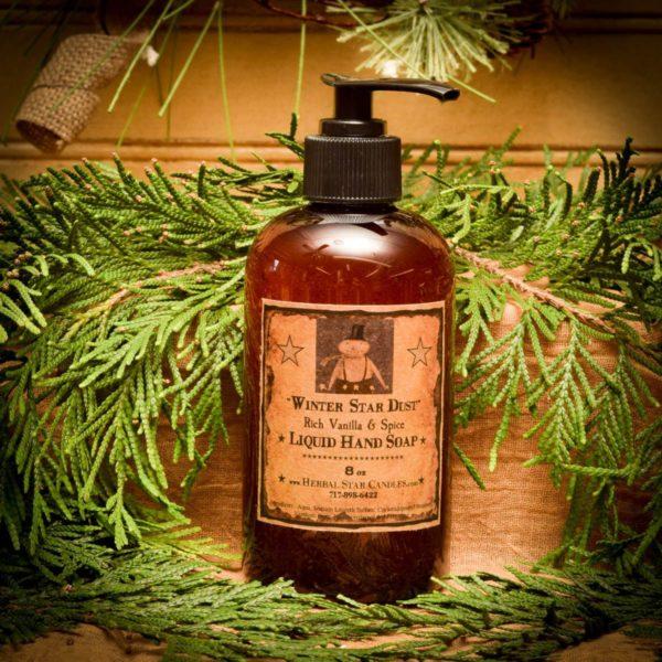 Winter Star Dust Liquid Hand Soap 8 oz