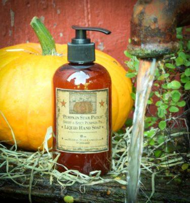 Pumpkin Star Patch Liquid Hand Soap