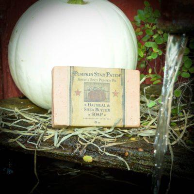 Pumpkin Star Patch Bar of Soap
