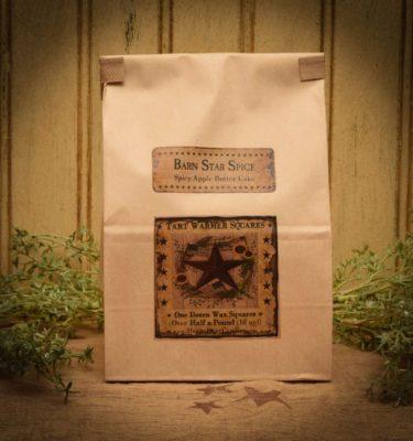 barn star spice bag of 12 tarts