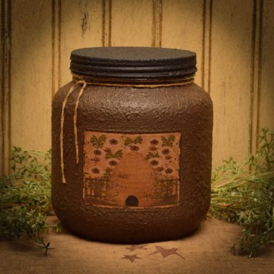 spiced honey cake beehive 64 oz jar candle