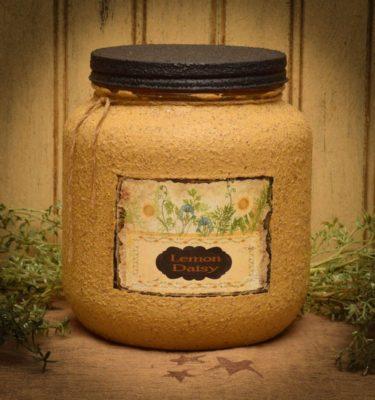 lemon daisy 64 oz jar candle