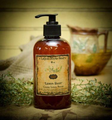 lemon daisy 8 oz liquid hand soap