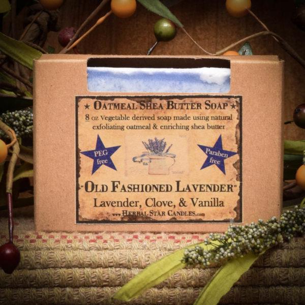 Old Lavender bar soap