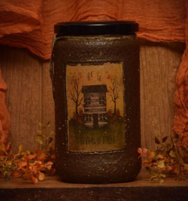 24 oz Autumn Splendor jar Candle