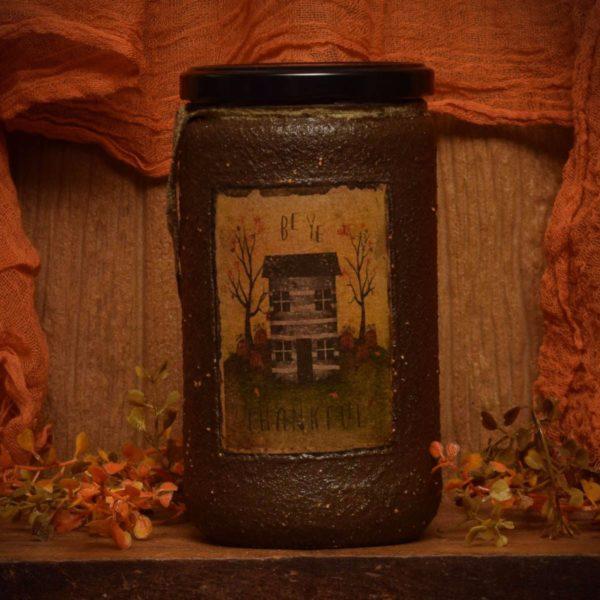 24 oz Autumn Splendor jar Candle