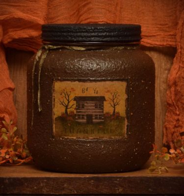 Autumn Splendor 64 oz jar candle