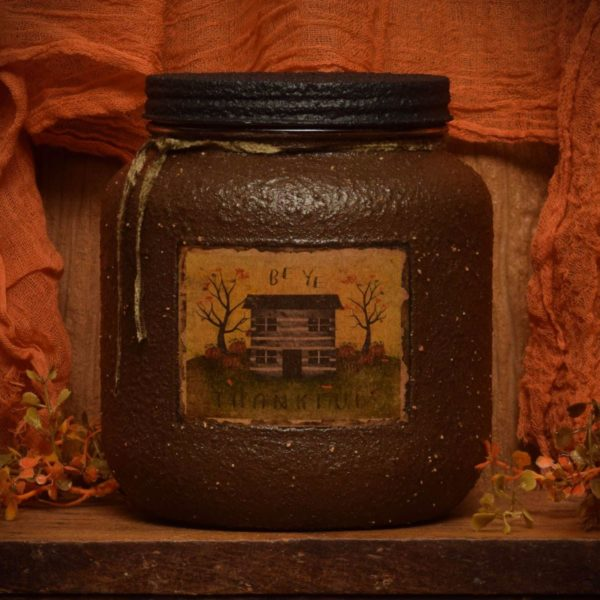 Autumn Splendor 64 oz jar candle