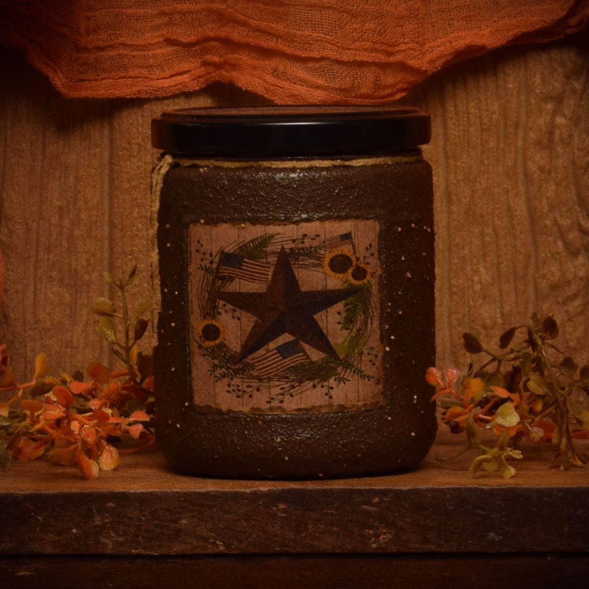 Barn Star Spice 16 oz Jar Candle