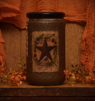 Barn Star Spice 24 oz jar candle
