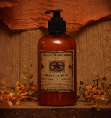 Barn Star Spice Organic Hand Lotion