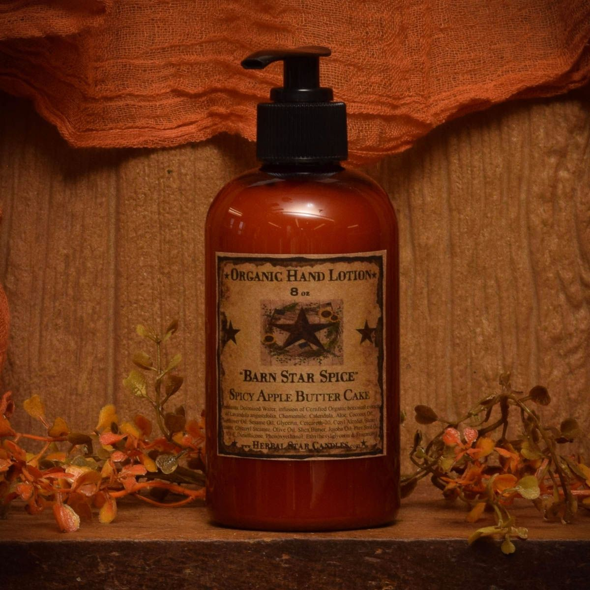 Barn Star Spice Organic Hand Lotion