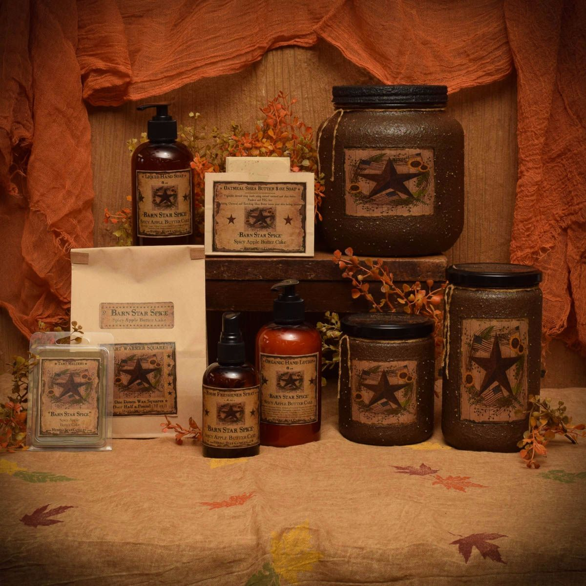 Barn Star Spice Collection
