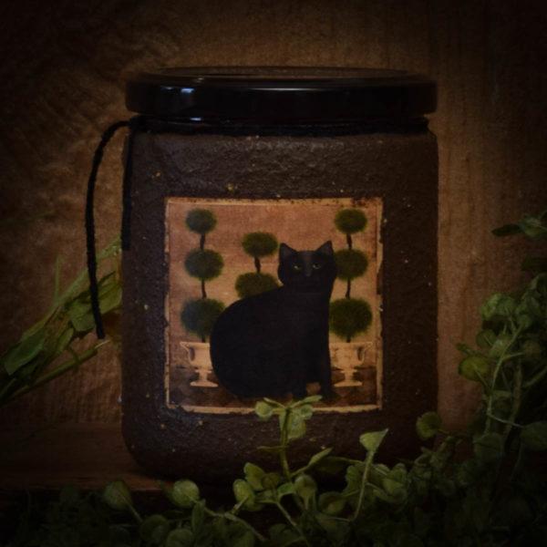 Little Miss Ebony 16 oz Jar Candle