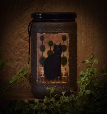 Little Miss Ebony 24 oz Jar Candle