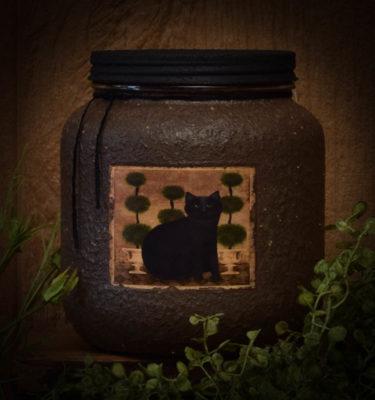 Little Miss Ebony 64 oz jar Candle