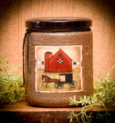 Shoo Fly Pie 16 oz Jar Candle