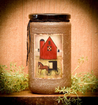 Shoo Fly Pie 24 oz jar candle