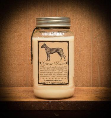 Cinnamon Dane-ish Jar candle