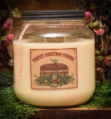 Warm Christmas sweets 64 oz soy mason jar candle