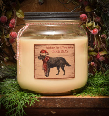Orange Clove 64 oz jar candle