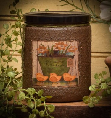 my peeps 16 oz jar candle