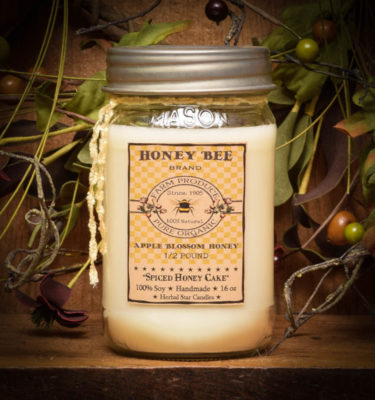 spiced honey cake 16 oz jar candle