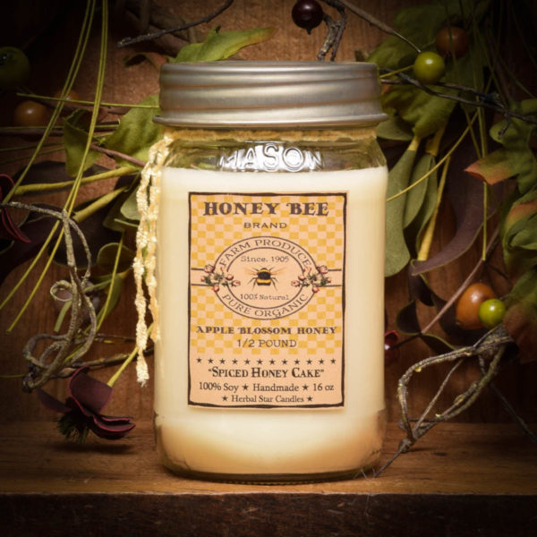 spiced honey cake 16 oz jar candle