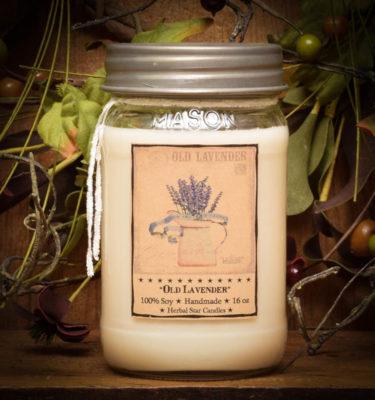 lavender 16 oz jar candle