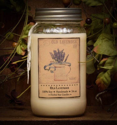 lavender 24 oz jar candle